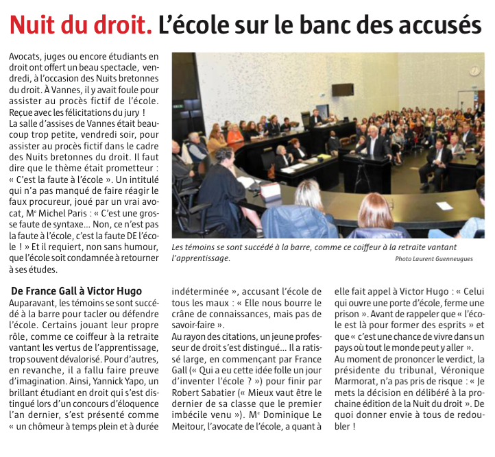 Article Le Télégramme