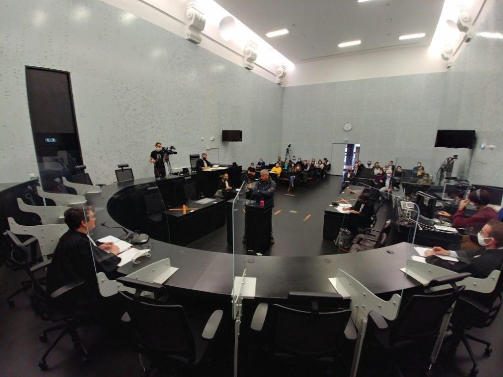 L'édition de la Nuit du Droit au Palais de Justice de Vannes.