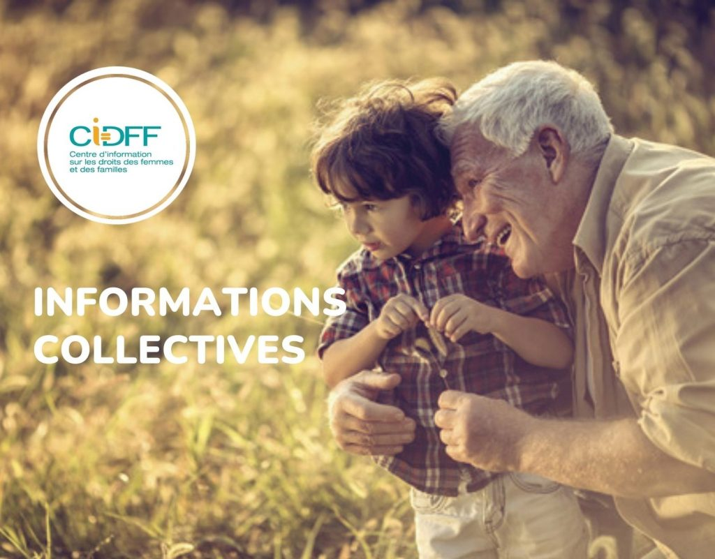 CIDFF : INFORMATIONS COLLECTIVES